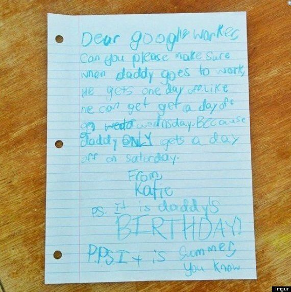Letter From Daughter Of Google Employee Gets Epic Response (And Some Free Time