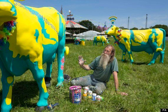 Glastonbury Free WiFi Cows Will Not Be Hard To