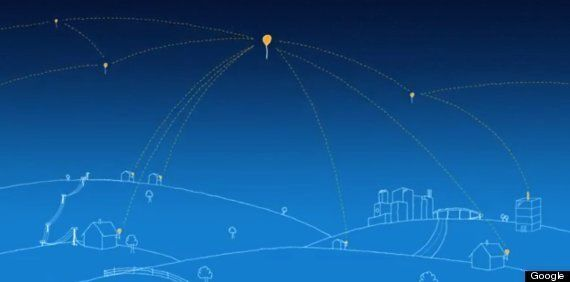 Google's 'Project Loon' Balloon Internet System To Be Tested In California