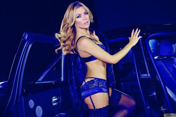 0626e80b0604d Abbey Clancy Vamps It Up In Sexy Underwear For Ultimo (PICTURES ...