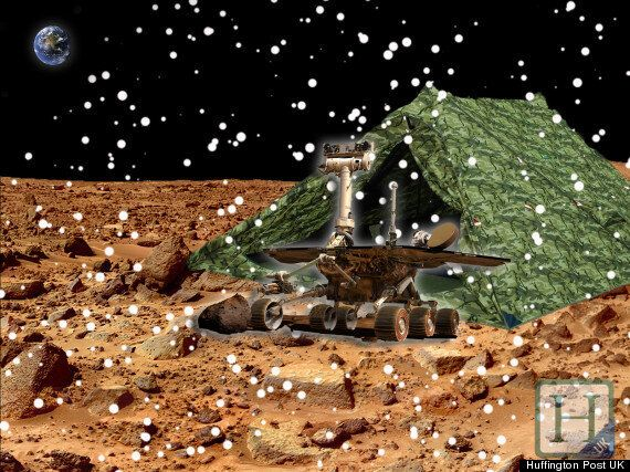 Mars Opportunity Rover Goes Camping To Sit Out Long Harsh Red Planet