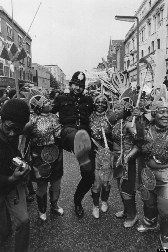 Notting Hill Carnival 2013: A Pictorial History Of Dancing Police Officers