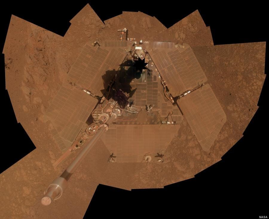 Selfie On Mars: Nasa's Mars Rover 'Opportunity' Marks 10 Years With Self