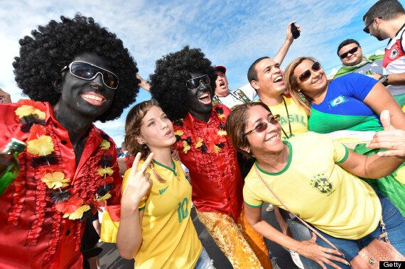 Fifa To Investigate Blacked Up Germany