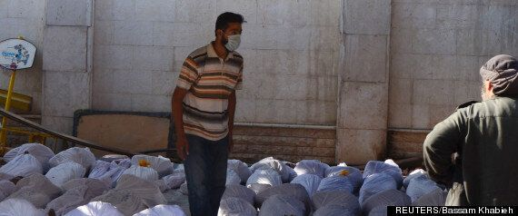 Syria: Chemical Weapons Used In Attack, Rebels Say, As Gruesome Pictures Emerge