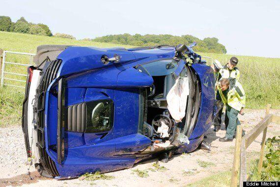 McLaren Worker 'Impaled' On Fence Post After Crashing £200k Supercar