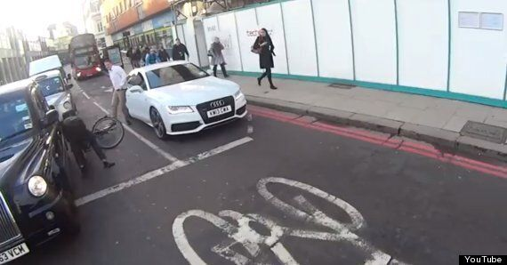 Shocking Road Rage Video Shows Driver Punching Cyclist In Central