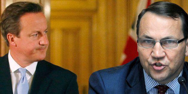 David Cameron 'F**ked Up' Over European Union, Polish Foreign Minister Radoslow Sirkorski