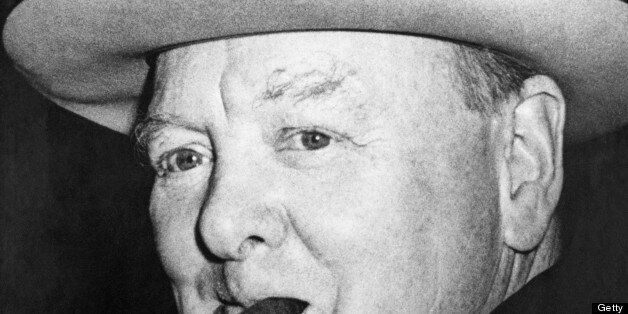Was Churchill in admiration of the Nazi