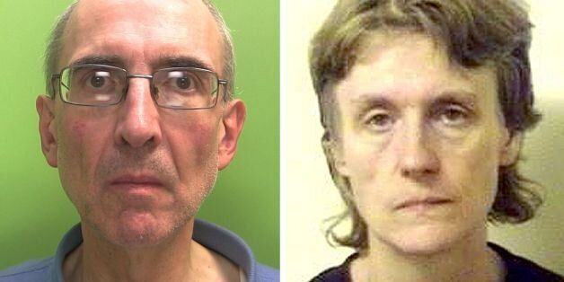 Undated handout file photos issued by Nottinghamshire Police of Christopher Edwards, 57, and Susan Edwards,...