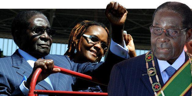 Robert Mugabe sworn