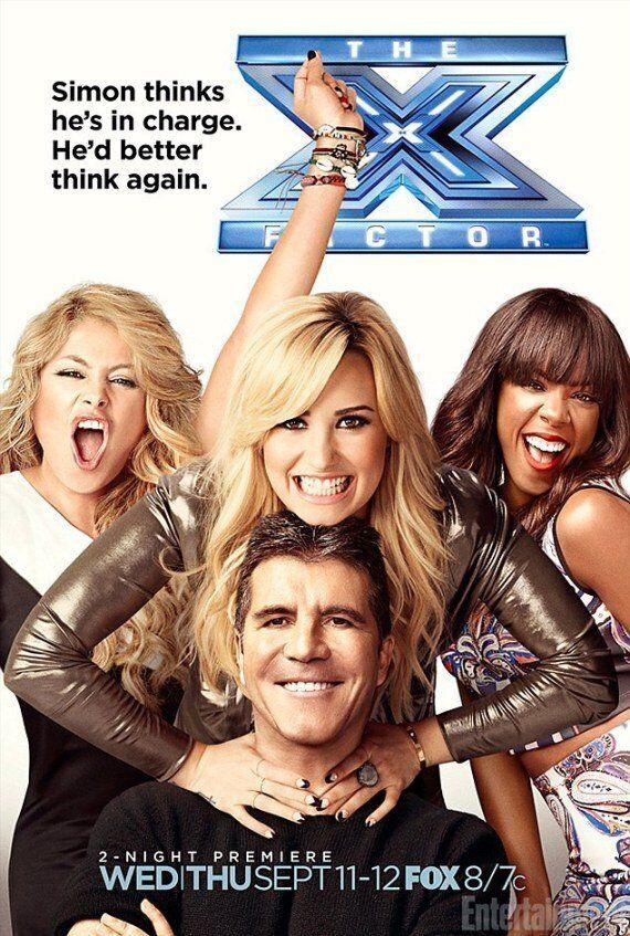Simon Cowell Victim Of Bad Photoshop Job In New 'X Factor USA' Promo