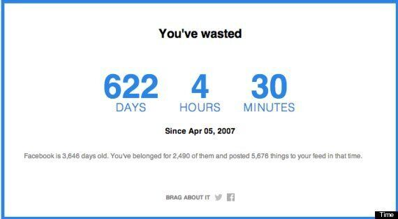 How Much Time Have You Wasted On Facebook? App Will Probably Make You