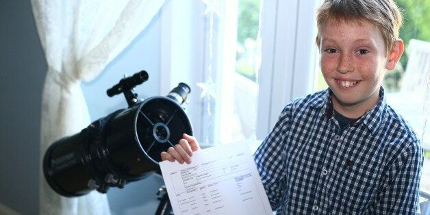 GCSE Results Day 2013: Monty Rix, 10-Year-Old With NASA Dreams, Gets B In