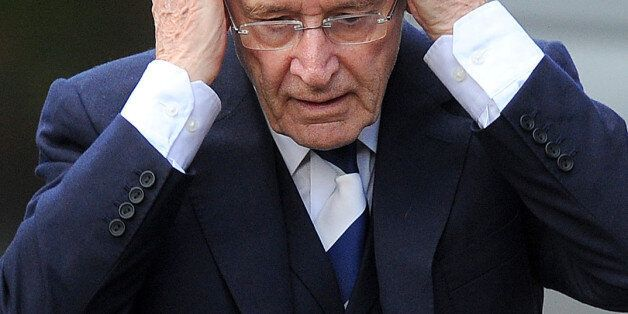 Coronation street actor Bill Roache, 81, of Wilmslow, Cheshire, arrives at Preston Crown Court, where...