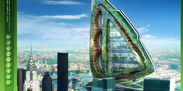 Dragonfly High-Rise Farm By Vincent Callebaut Architects Could Solve Our Urban Living