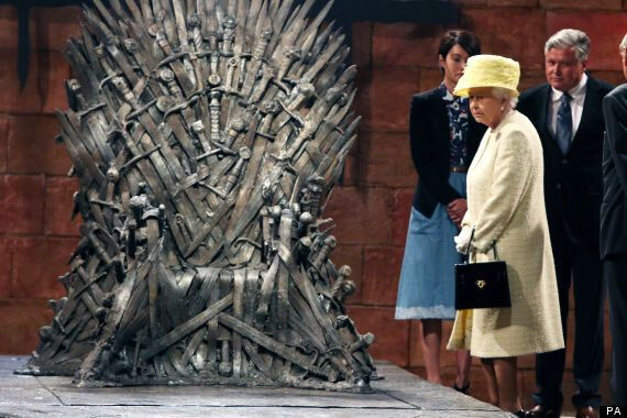 14 Pictures Of The Queen Looking Unimpressed By Things (Including The Iron