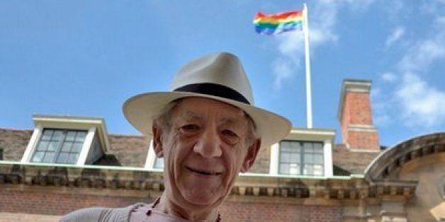 Ian McKellen Gets Honorary Degree From Cambridge, University Flies Gay Pride Flag To