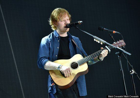 Glastonbury 2014: Ed Sheeran Tops List Of Most Streamed Artists Performing At The Music