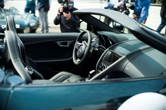 The Jaguar F Type Project 7 Road