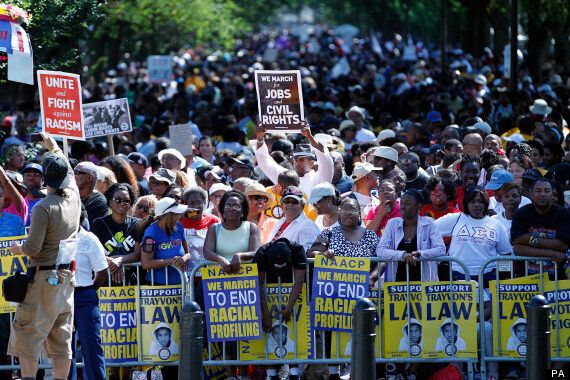 Thousands March On Washington For 50th Anniversary But America Remains Divided (PICTURES,