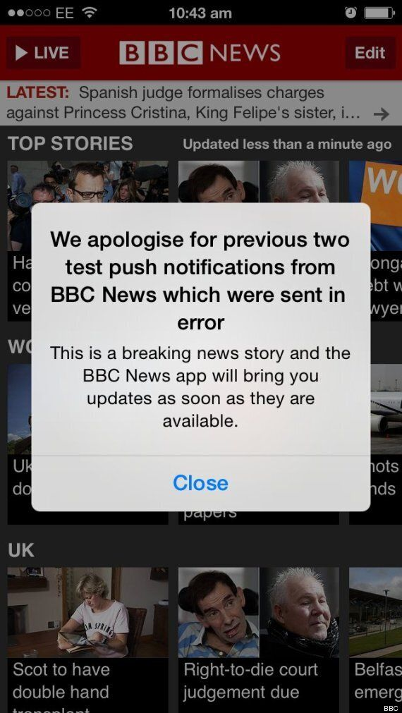 BBC Sends Readers 'News Alert' Complaining About Lack Of Nudity In Game Of
