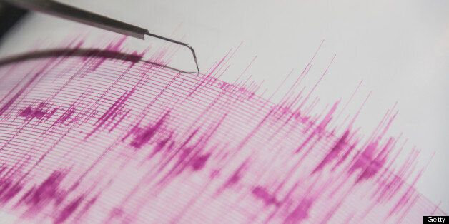 Experts say the strongest measured 3.3 on the Richter