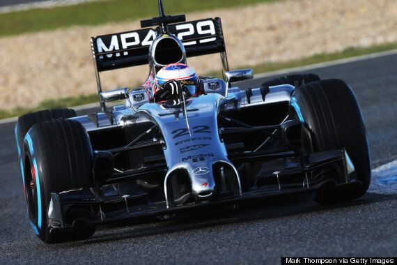 Jenson Button Finally Gets On Jerez Track For F1 Testing And Sets Fastest