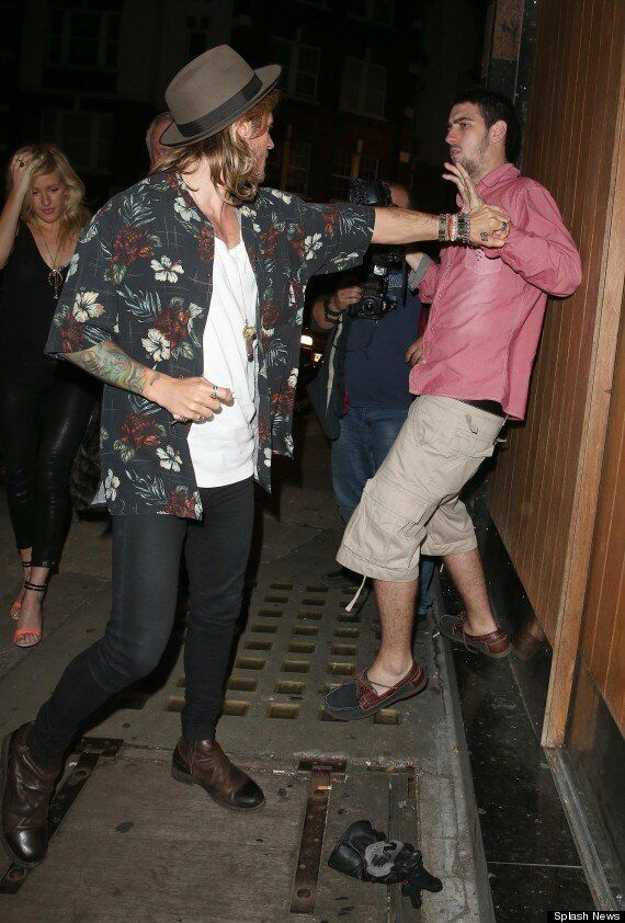 Ellie Goulding And Dougie Poynter Spotted At Chiltern Firehouse, Days After Calvin Harris Dating Rumours