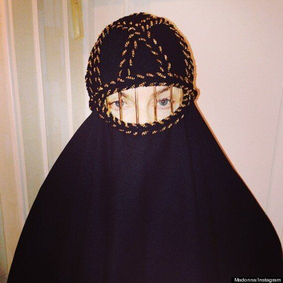 Madonna Wears A Niqab In #Unapologetic Instagram Snap