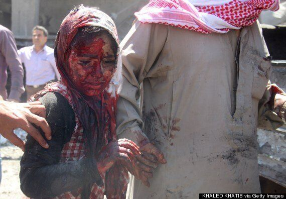 Iraq, Syria and Gaza Pictures Reveal Grim Reality Of Kids At
