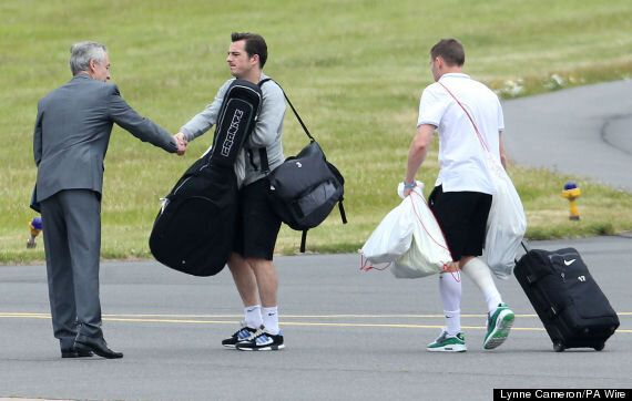 England Return Home From World Cup After Travelling 12,000 Miles For One Point