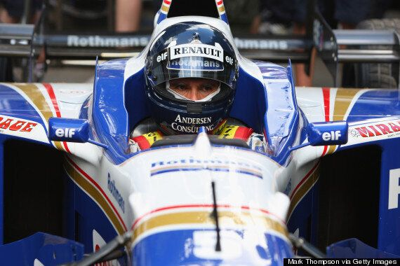 Goodwood Festival Of Speed: Damon Hill Returns In F1 Title-Winning Williams FW18 (VIDEO,
