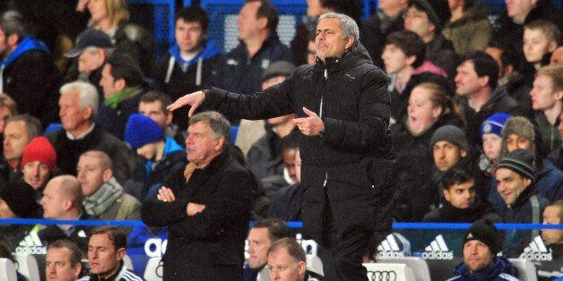 Mourinho was unimpressed with Allardyce's