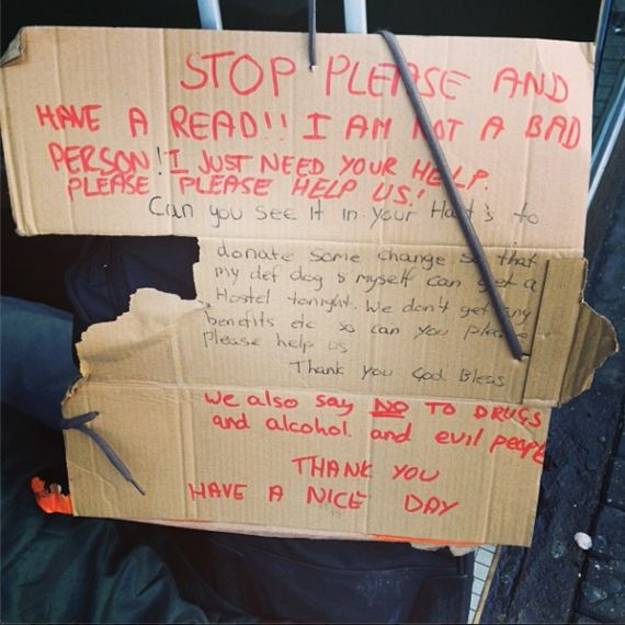 London's Neglected Homeless