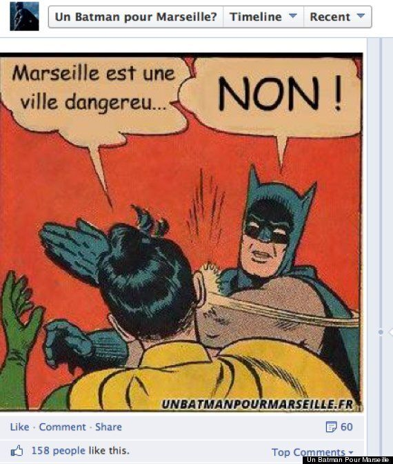 Marseille Residents Petition For A Batman To Save Them From
