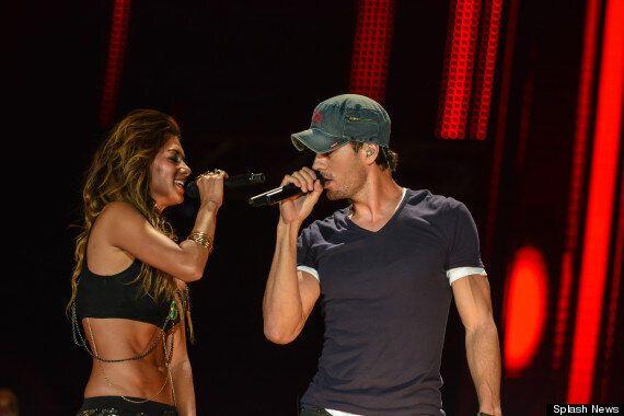 Nicole Scherzinger And Enrique Iglesias Get Close During Steamy 'Heartbeat' Performance In Malta