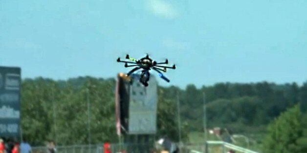 Drone Crashes At 'Bull Run' Event In United States