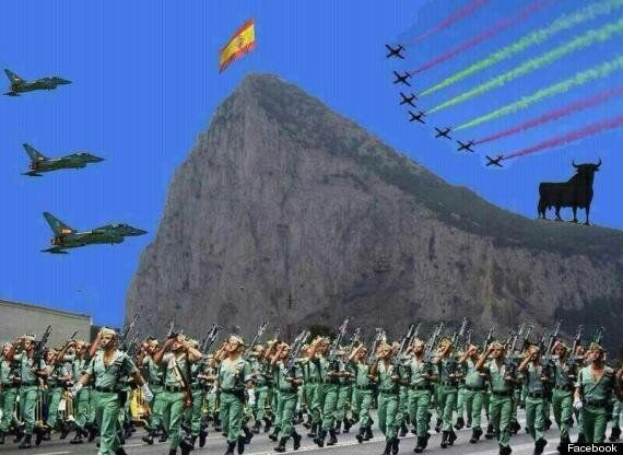 'Gibraltar Invasion' Picture Posted By Spanish Mayor On Facebook Sparks
