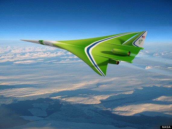 NASA Is Helping To Build Supersonic Passenger