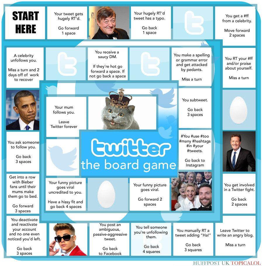 If Twitter Was A Board