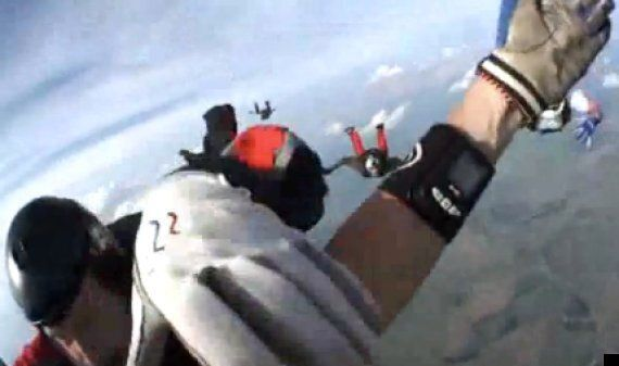 Skydiver Knocked Unconscious During Jump Films 12,500ft Plummet To Earth On Headcam