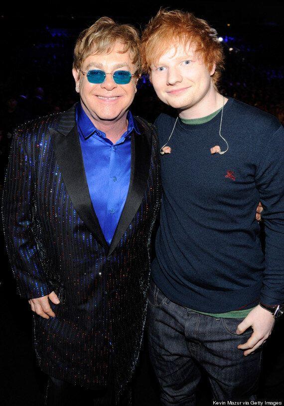 Elton John To Reissue 'Goodbye Yellow Brick Road' Featuring Ed Sheeran And Emeli