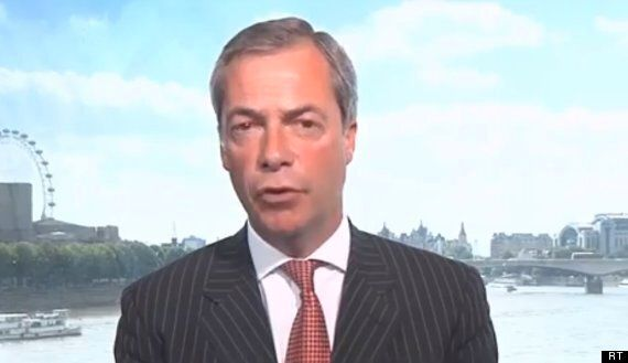 Nigel Farage: 'We Cannot Go To War With Syria On A Whim'