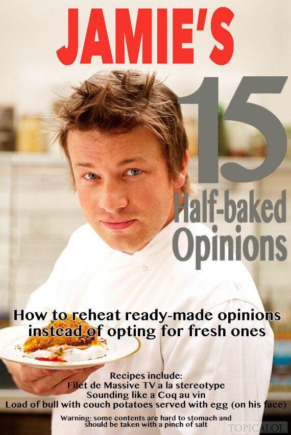 Jamie Oliver's New Book Revealed