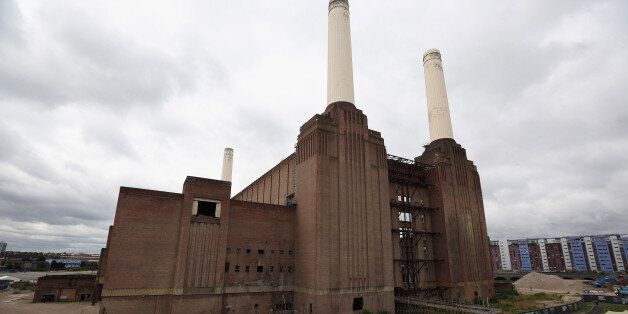A general view of Battersea Power Station in central London on July 4, 2013. Battersea Power Station,...