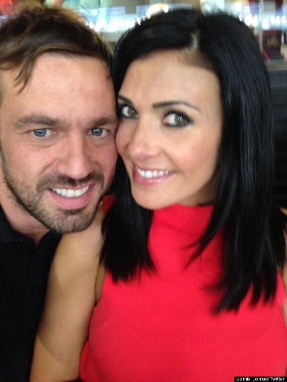 Kym And Jamie Lomas Back Together? Pair Put On United Front In Loved Up Twitter