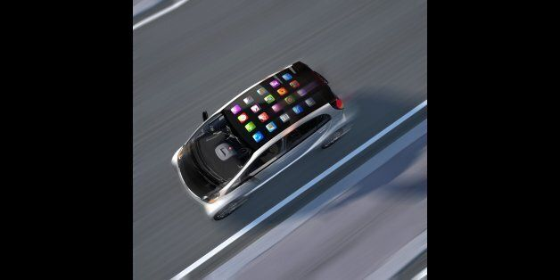 Mobile apps on top of speeding