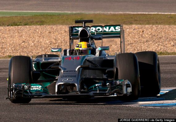 Mercedes Ends F1 Jerez Testing In Dominant Style