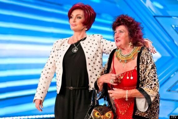 'X Factor' Judge Sharon Osbourne Meets Her Doppelganger On The 'Xtra Factor'